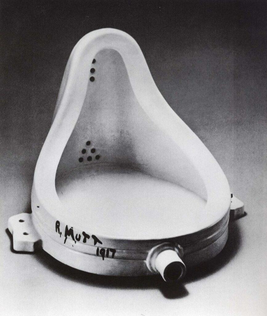 Fountain, Marcel Duchamp, 1917