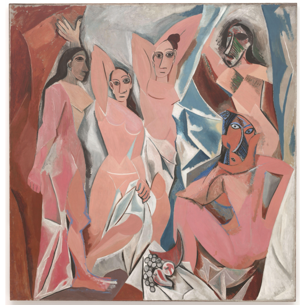 Les Demoiselles d'Avignon By Pablo Picasso - Maurice Raynal, Picasso, 1921, PD-US